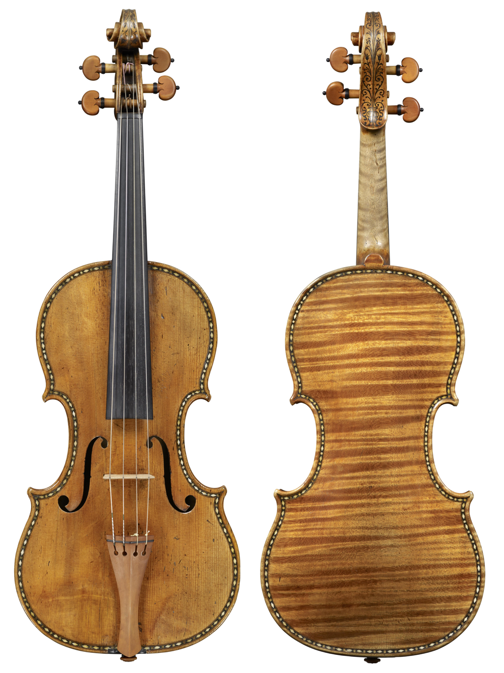 The astonishing 'Sunrise' Stradivari of 1677. Photos: Jan Röhrmann, Antonius Stradiuarius Vol I–IV