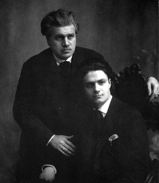 Gaetano and Pietro Sgarabotto in Parma, June 1926. Photo courtesy Gaetano and Pietro Sgarabotto 1878–1990, Editrice Turris