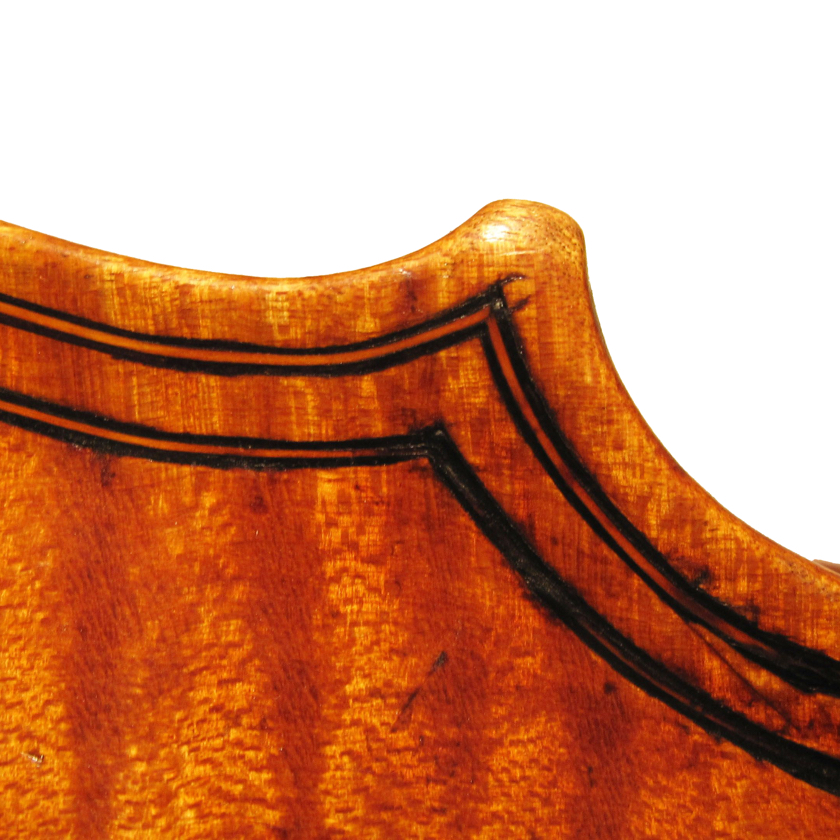 Maggini violin detail